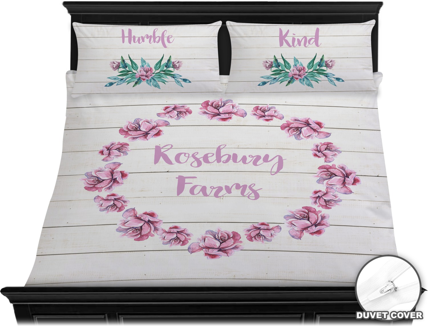 Farm House Duvet Cover Set King Personalized YouCustomizeIt
