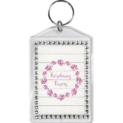 Farm House Bling Keychain (Personalized)