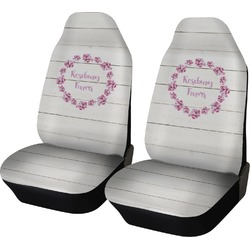 Farm House Car Seat Covers (Set of Two) (Personalized)