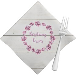 Farm House Napkins (Set of 4) (Personalized)