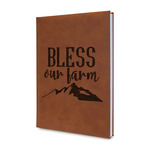 Farm House Leatherette Journal (Personalized)
