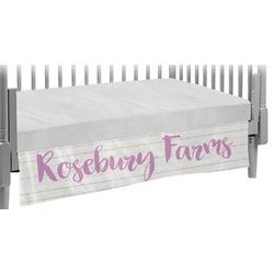 Farm House Crib Skirt (Personalized)