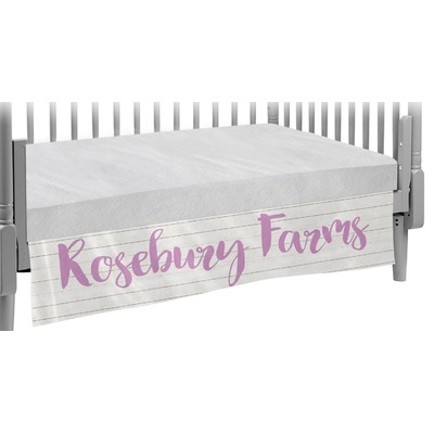 Farm House Crib Skirt (Personalized)