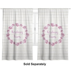 "Farm House Curtains - 56""x80"" Panels - Lined (2 Panels Per Set) (Personalized)"