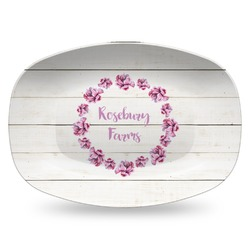 Farm House Plastic Platter - Microwave & Oven Safe Composite Polymer (Personalized)