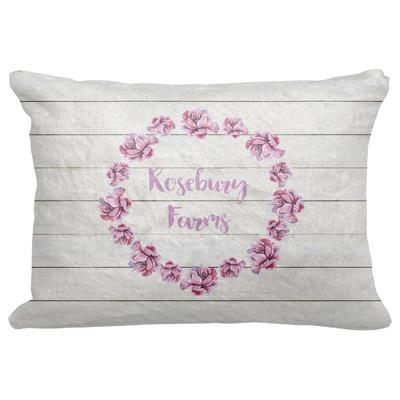 "Farm House Decorative Baby Pillowcase - 16""x12"" (Personalized)"