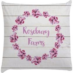 Farm House Decorative Pillow Case (Personalized)