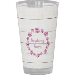 Farm House Drinking / Pint Glass (Personalized)
