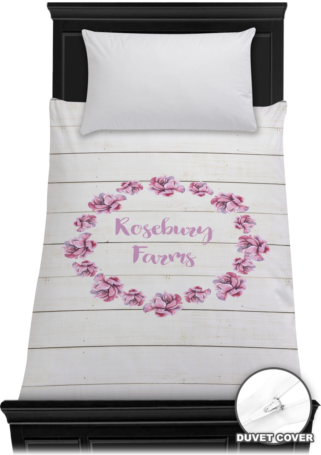 Farm House Duvet Cover Toddler Personalized YouCustomizeIt
