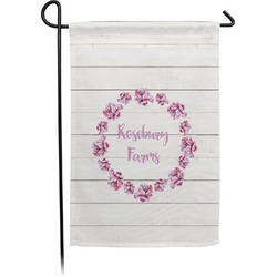 Farm House Single Sided Garden Flag (Personalized)