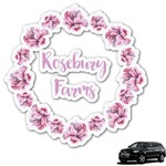 Farm House Graphic Car Decal (Personalized)
