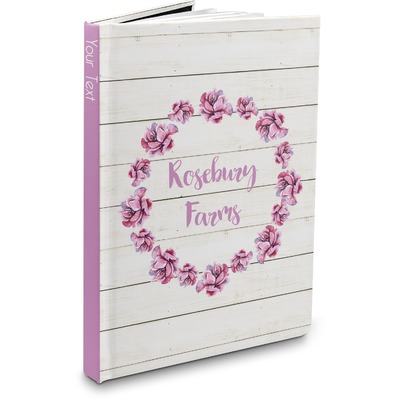 Farm House Hardbound Journal (Personalized)