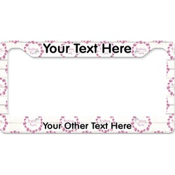 Farm House License Plate Frame (Personalized)