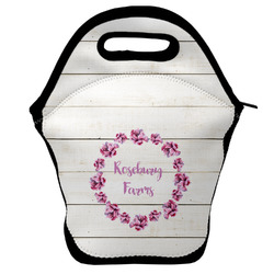 Farm House Lunch Bag w/ Name or Text