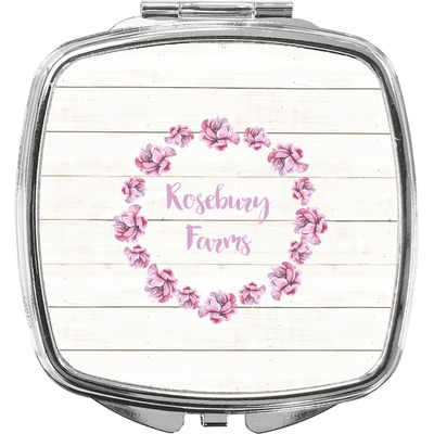 Farm House Compact Makeup Mirror (Personalized)