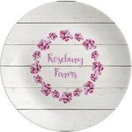Farm House Melamine Plate (Personalized)