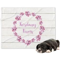 Farm House Dog Blanket (Personalized)