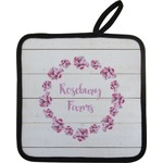 Farm House Pot Holder w/ Name or Text