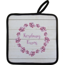 Farm House Pot Holder (Personalized)