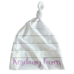 Farm House Newborn Hat - Knotted (Personalized)