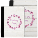 Farm House Notebook Padfolio w/ Name or Text