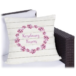 Farm House Outdoor Pillow (Personalized)