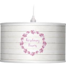 Farm House Drum Pendant Lamp (Personalized)