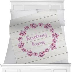 Farm House Minky Blanket (Personalized)