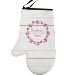 Farm House Left Oven Mitt (Personalized)