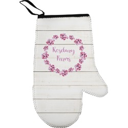 Farm House Oven Mitt (Personalized)