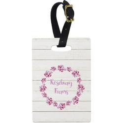 Farm House Rectangular Luggage Tag (Personalized)