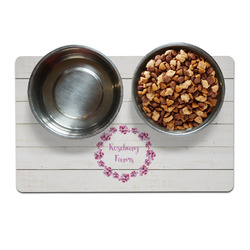 Farm House Dog Food Mat (Personalized)