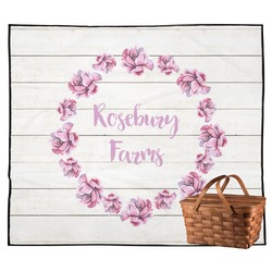 Farm House Outdoor Picnic Blanket (Personalized)