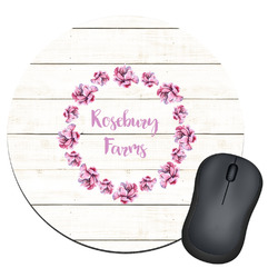 Farm House Round Mouse Pad (Personalized)