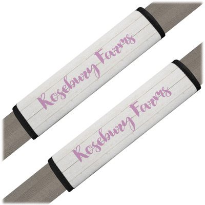 Farm House Seat Belt Covers (Set of 2) (Personalized)