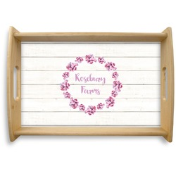 Farm House Natural Wooden Tray (Personalized)