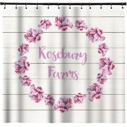 Farm House Shower Curtain (Personalized)