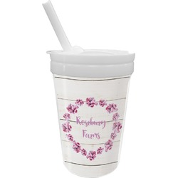 Farm House Sippy Cup with Straw (Personalized)