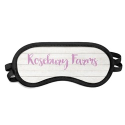 Farm House Sleeping Eye Mask (Personalized)