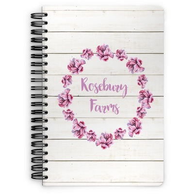 Farm House Spiral Notebook (Personalized)