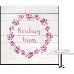 Farm House Square Table Top (Personalized)