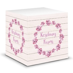 Farm House Sticky Note Cube (Personalized)