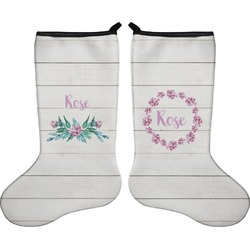 Farm House Holiday Stocking - Double-Sided - Neoprene (Personalized)