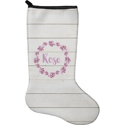 Farm House Christmas Stocking - Neoprene (Personalized)