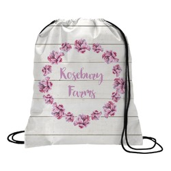 Farm House Drawstring Backpack - Small (Personalized)