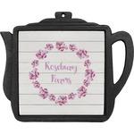 Farm House Teapot Trivet (Personalized)