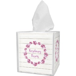 Farm House Tissue Box Cover (Personalized)