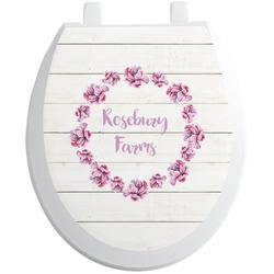 Farm House Toilet Seat Decal (Personalized)