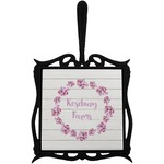 Farm House Trivet with Handle (Personalized)