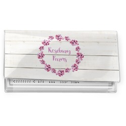 Farm House Vinyl Checkbook Cover (Personalized)